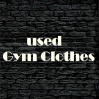 Used gym clothes