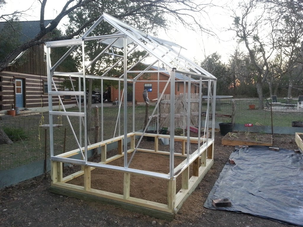 6x8 Harbor Freight Greenhouse Assembly