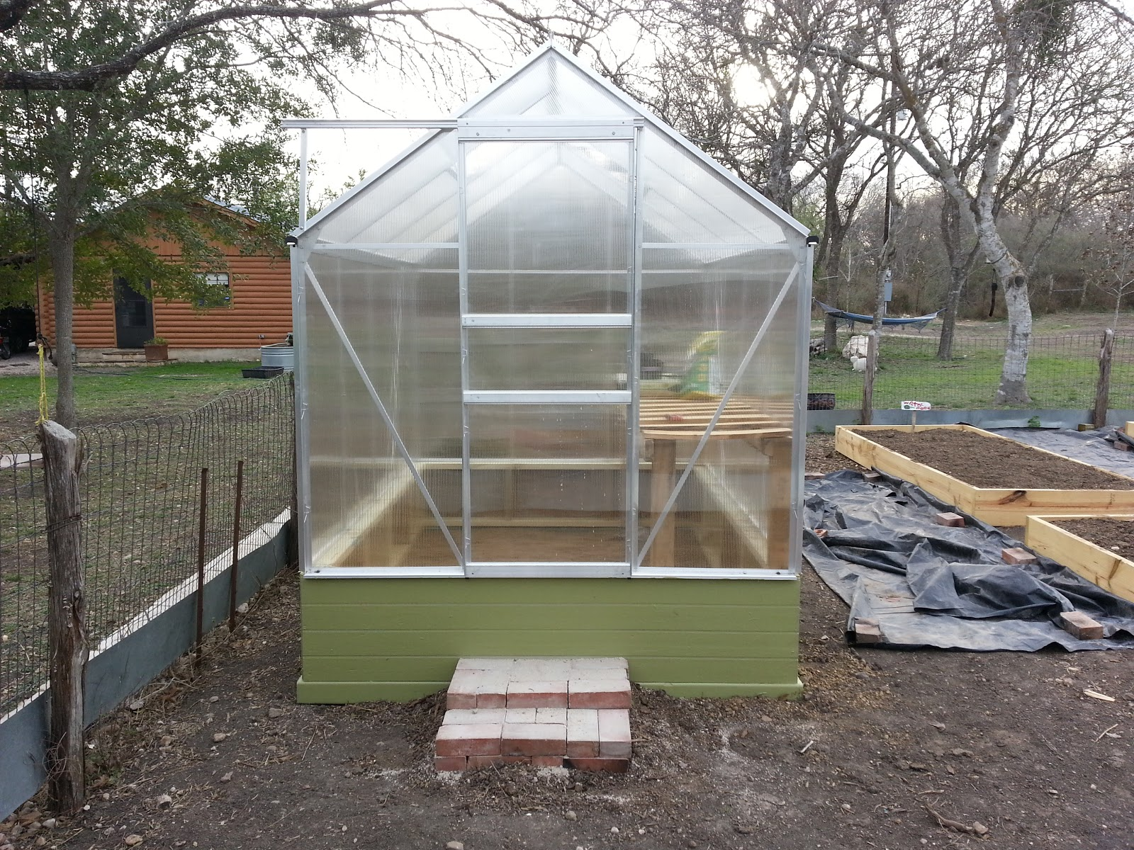 One Stop Gardens Greenhouse 6x8 Instructions Garden Ftempo