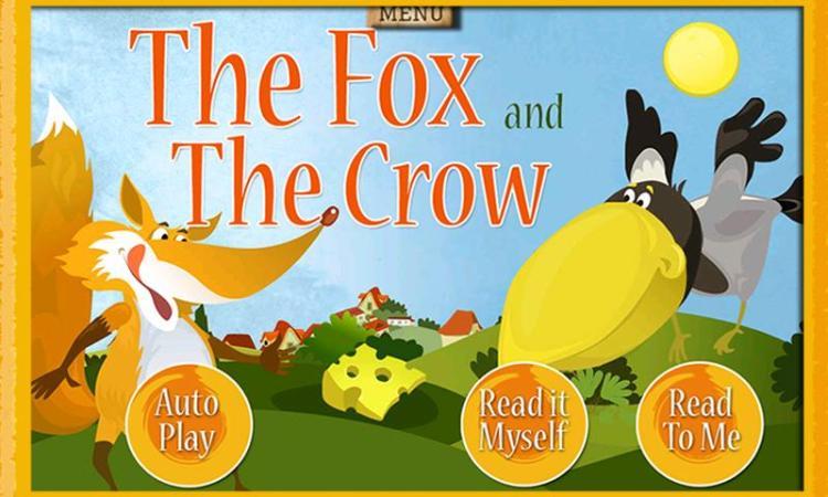 us-android-1-fox-and-crow-storybook-for-kids Электронные книги для ребенка, польза или вред