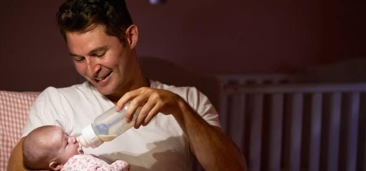 Отучение ребенка от ночного кормления