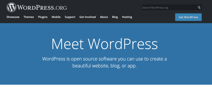 Wordpress is best CMS for blogging