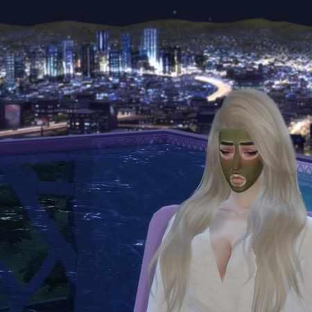 模擬市民4 - 敷面膜
