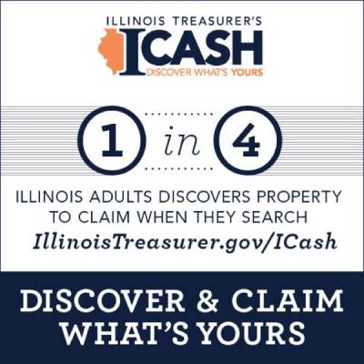 1 in 4 Illinois Adults Discovers Property to Claim When They Search ICash.