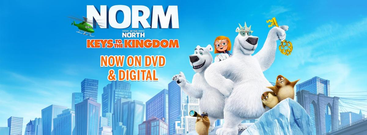 Norm of The North: Keys to the Kingdom [DVD Giveaway]