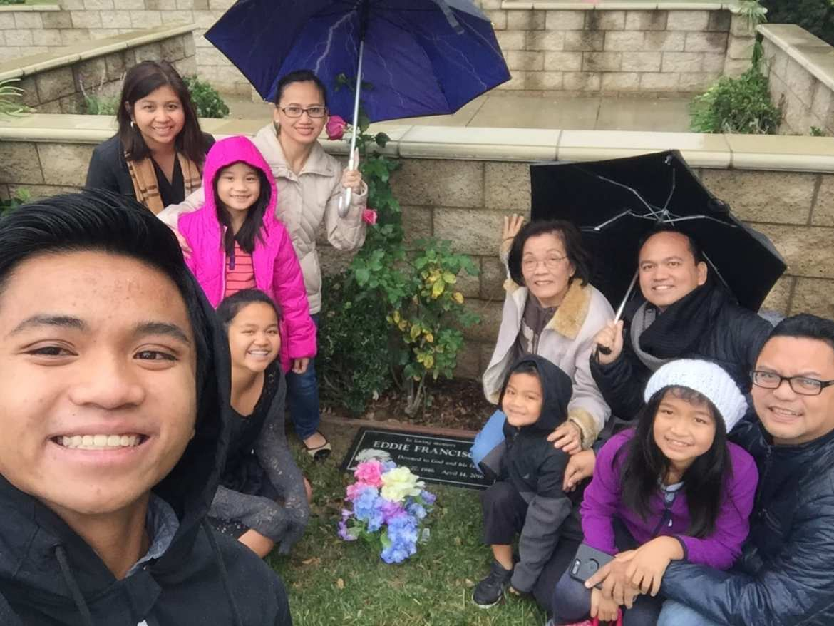 Our first new year without Dad