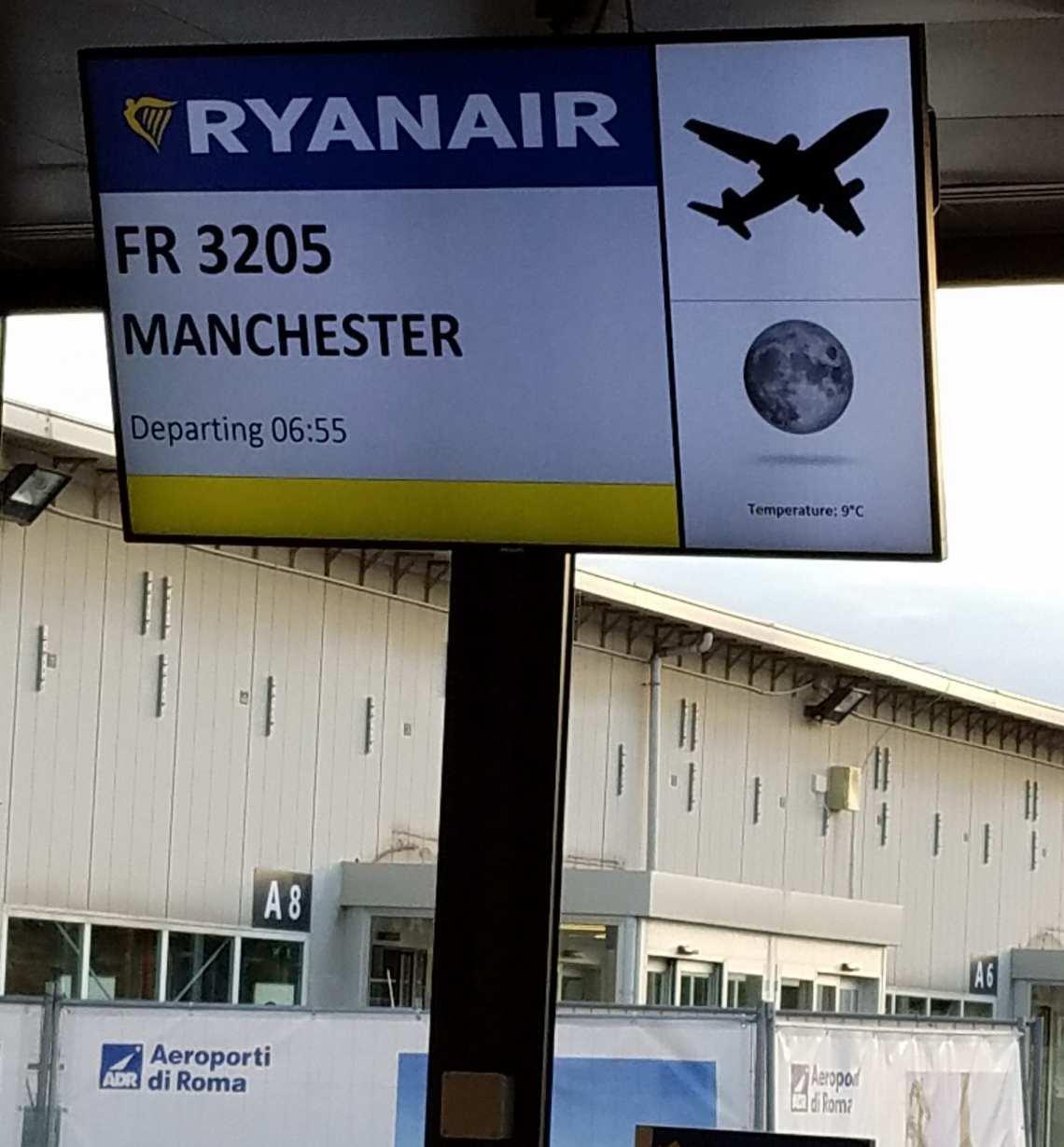 Ryanair Ciampino