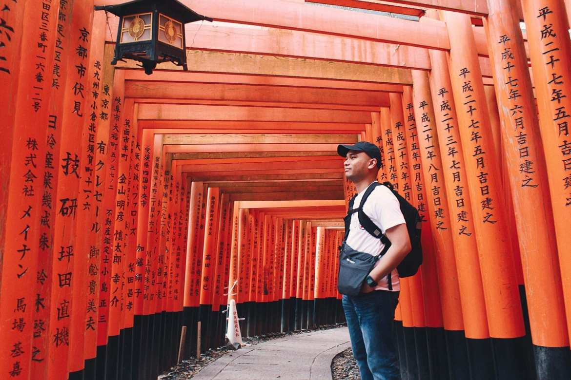 Embracing Kyoto: Fushimi Inari Shrine