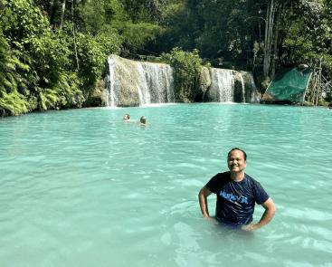 Cambugahay Falls - Siquijor Island, Philippines - January 2020