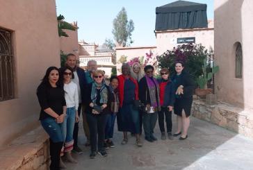 وفد من وكالات الأسفار الأمريكية يطلع بورزازات على المؤهلات السياحية للإقليم