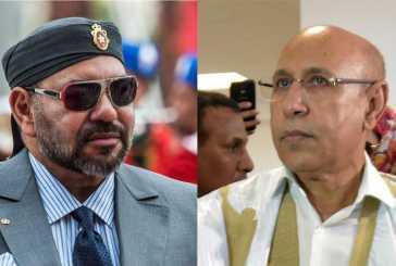 إتصال هاتفي بين جلالة الملك و فخامة رئيس جمهورية موريتانيا