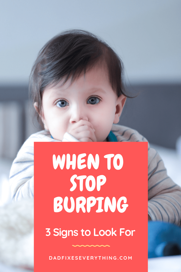 At what age do you stop burping a baby? | Yahoo Answers