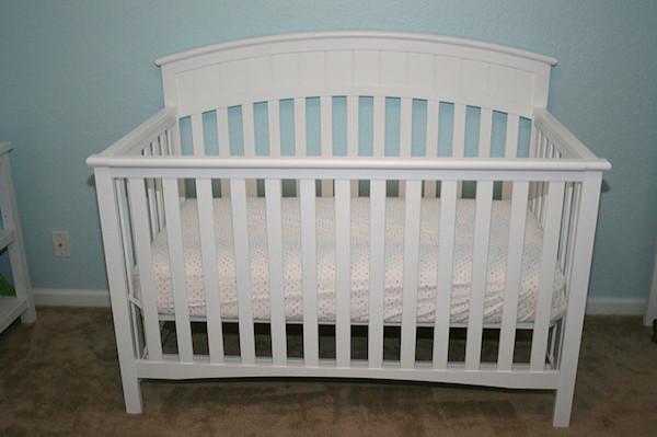 Crib for nursery