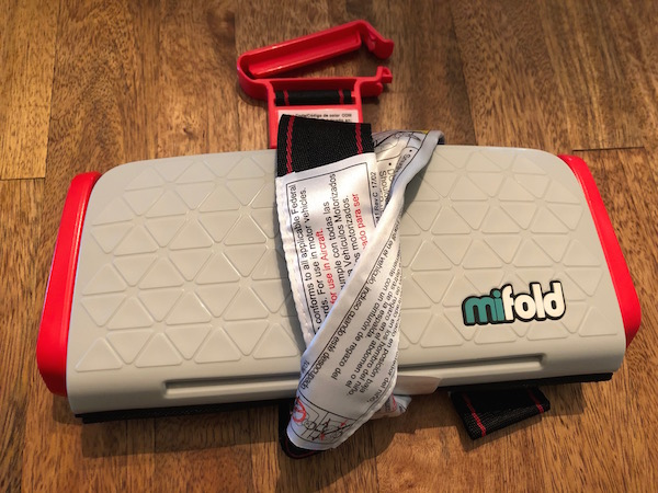 Mifold booster seat hands-on review