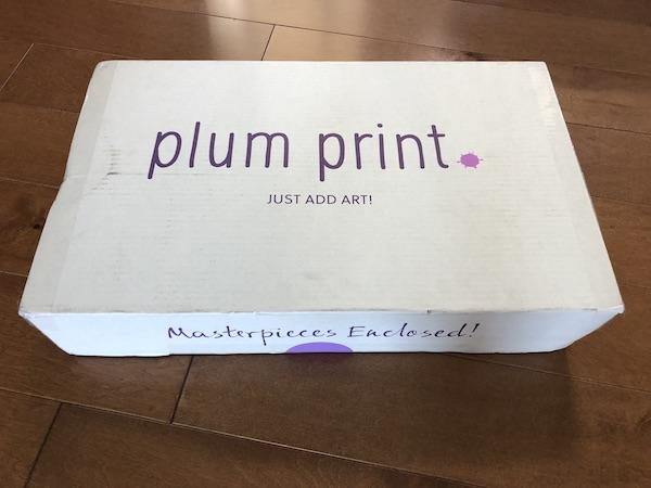 Plum Print box