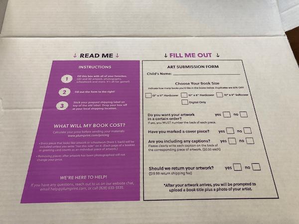 Plum Print instructions
