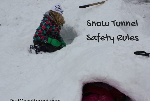 Snow Tunnel Safety Rules