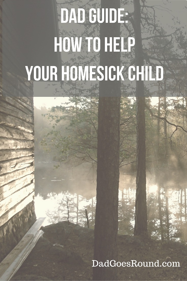 Dad Guide: How to Help Your Homesick Child | These tips will help your homesick child build coping strategies and lead them to greater independence.