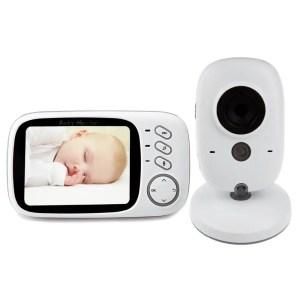 3. iLifesmart White VB603 2.4G Wireless Baby Video Monitor