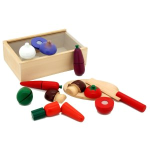 toy chopping food set