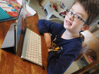 He loves computers and programming, so coding his own apps is a dream come true!