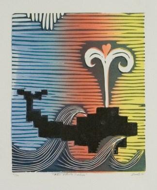 Ástir síðasta hvalsins 95 25x30 cm