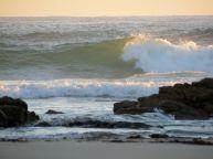 shining through the waves