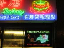 Emperor's Garden was tempting ...