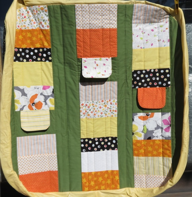 the cot or play quilt