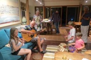 family jam session