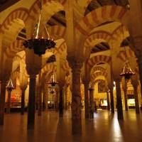 Inside the Mezquita, Cordoba