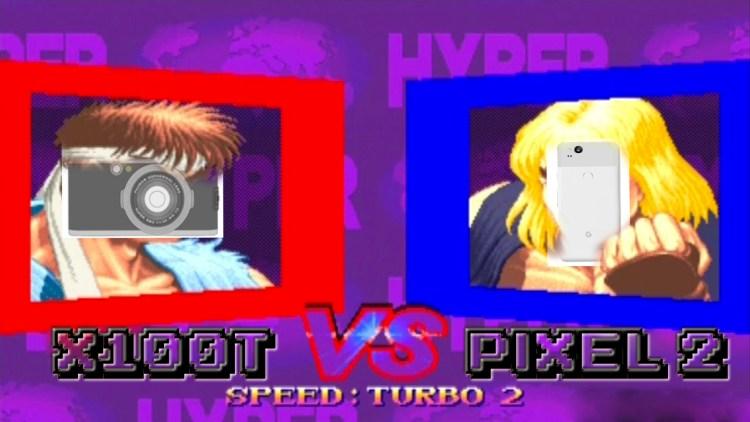x100t vs Pixel 2