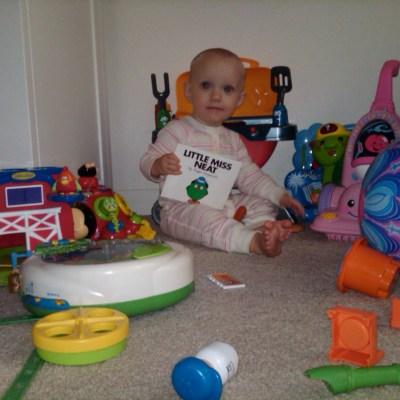 DAD'S IN DEEP SH!T #10:  Little Miss Neat.