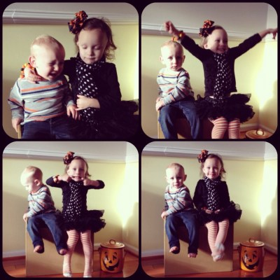HOLD STILL!  It's Halloween.