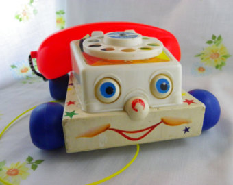 Fisher Price vintage chatterbox