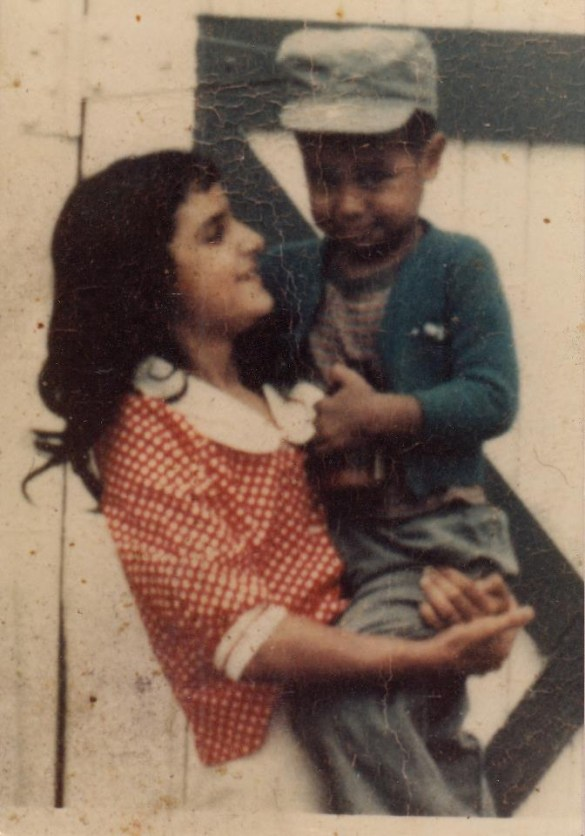 Victor as a little boy