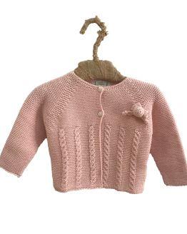 Marta y paula chaqueta rosa