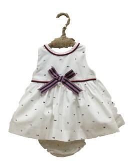 Foque vestido braga estampado faros Colección Saint Tropez