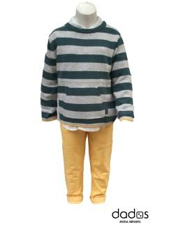 Tutto Piccolo pantalón amarillo
