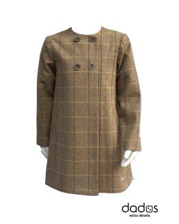 Eve Children abrigo paño marrón