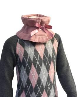 Cuello Para Sofía vestido rombos