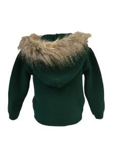 Sigar jersey capucha pelo verde