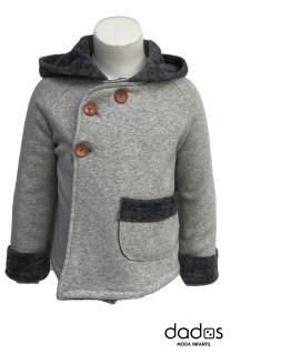 Baby Yiro abrigo gris