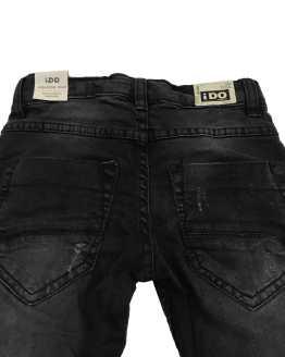 IDO pantalón vaquero negro trasera