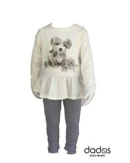 IDO conjunto legging y camiseta perro