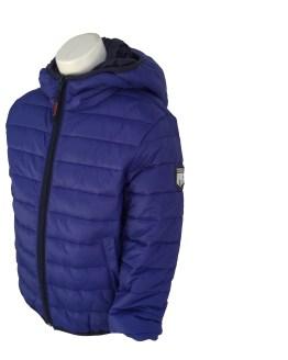 Aygey chaquetón azulón detalle