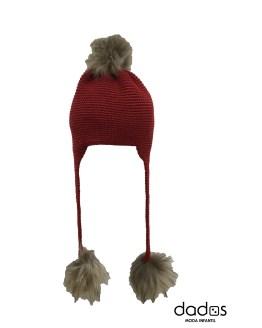 Bamboline Anjana gorro rojo
