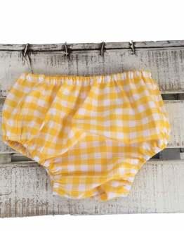 Braga Mon Petit Bonbon jesusito cuadros amarillos