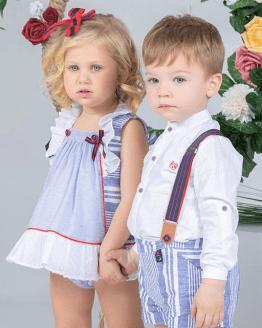 Marta y Paula conjunto bebé colección Apolo