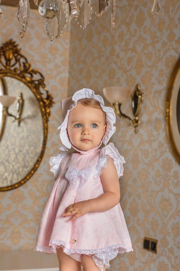Dolce Petit vestido rosa catálogo